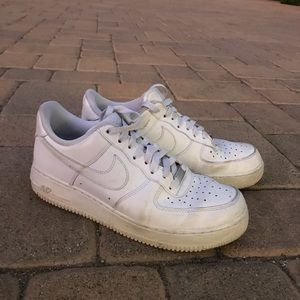 Nike Air Force 1's (USED)
